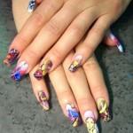 Виды художественного украшения ногтей