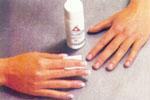 Обработка ногтевой пластины
