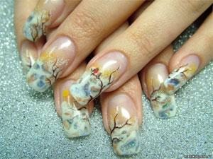 Художественный дизайн ногтей