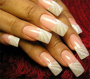 Наращивание ногтей: маскируем дефекты