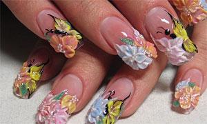 Популярно о дизайне ногтей