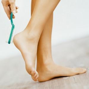 Уход за ногтями пальцев ног