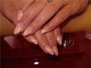 Гелевый маникюр - помощь проблемным ногтям