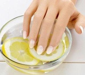 Уход за кожей рук и ногтями с помощью лимона
