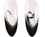 Дизайн ногтей «Веселый пингвин»