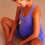 Уход за ногами для беременных женщин