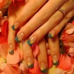 Симпатичный цветочный дизайн