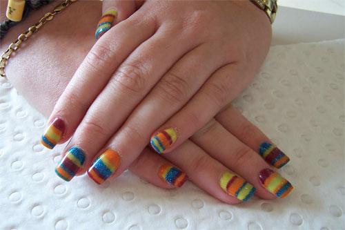 фото радужные ногти