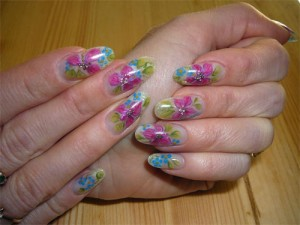 Дизайн «Тропические цветы»