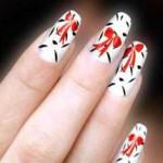 Использование графики в дизайне ногтей