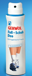 Новый дезодорант для ног и обуви от Gehwol