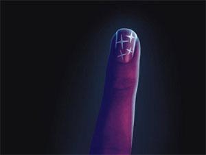 Дизайн ногтей в стиле диско