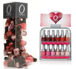 Собрание лаков для ногтей LOVE от ORLY