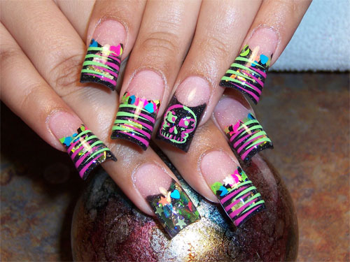 конкурс дизайна ногтей: