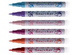 Раскрась ногти фломастером bomo Spacy line