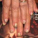 Дизайн ногтей «Морские создания»