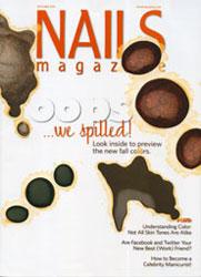 Жемчужный дизайн попал на страницы журнала Nails