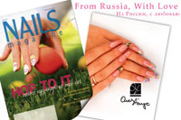 Russian Style в дизайне ногтей покорил американский журнал Nails