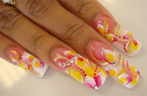 """Дизайн ногтей """"Летние краски"""""""