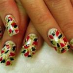 Камуфляжный дизайн ногтей