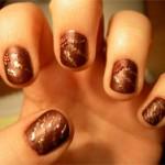 Модный маникюр с короткими ногтями