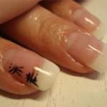 Использование иероглифов в дизайне ногтей