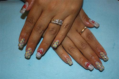 Кондитерский дизайн ногтей