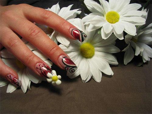 Дизайн ногтей с водой