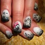 Дизайн ногтей «Звездные скелеты»