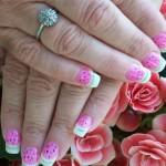 «Арбузный» дизайн ногтей