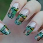 Дизайн ногтей «Опавшая листва»