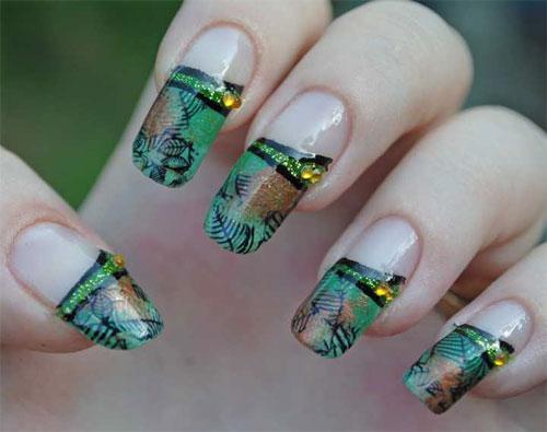 """Дизайн ногтей """"Опавшая листва"""""""