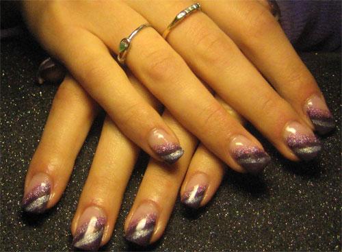 Глиттер в дизайне ногтей