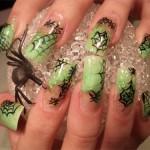 Подборка ногтевого дизайна в стиле «Хэллоуин»