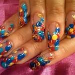 Дизайн ногтей «Воздушные шарики»
