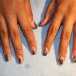 Дизайн ногтей «Осенний лист»