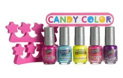 """""""Детская"""" коллеция лака Candy Color"""