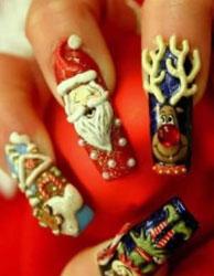 Новый Год: дизайн ногтей для праздника