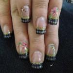 Праздничный дизайн ногтей