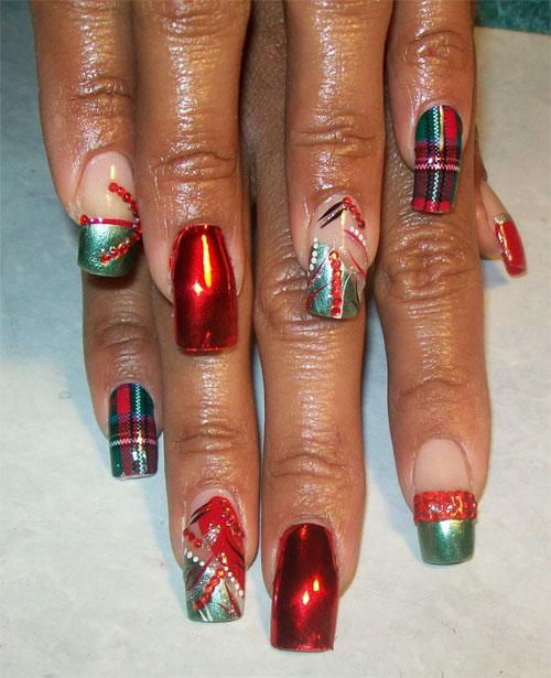 """Дизайн ногтей """"Рождественские мотивы"""""""
