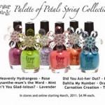 «Цветочная» коллекция лака Finger Paints