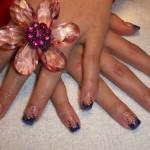 Дизайн ногтей «Звездопад»
