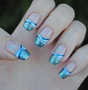 Дизайн ногтей «Снежное чудо»
