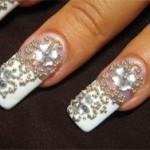 Необычные украшения ногтей