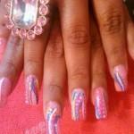 Дизайн ногтей «Розовая фантазия»