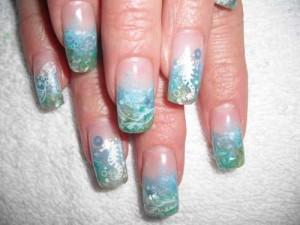 Дизайн ногтей «Морской мир»