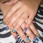 Дизайн ногтей «Нарисованное сердце»