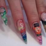 Дизайн ногтей «Лепрекон»