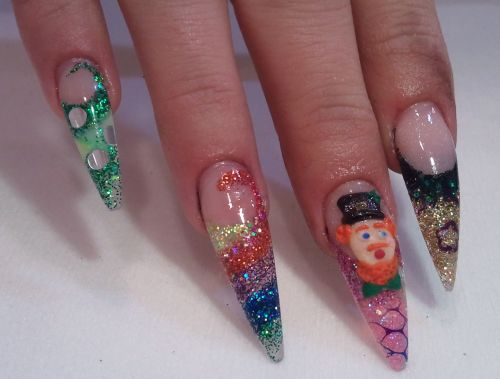 """Дизайн ногтей """"Лепрекон"""""""