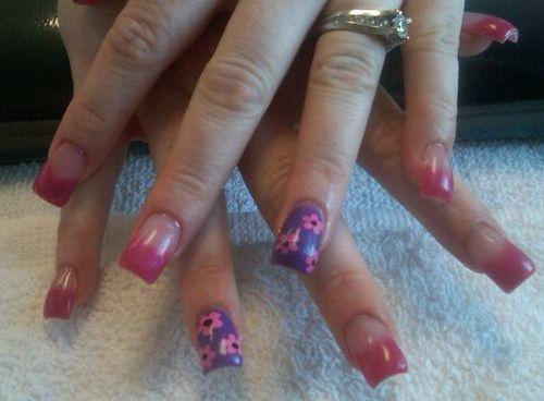 """Дизайн ногтей """"Весенние цветы"""""""